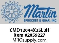 Martin Sprocket CMD12044X35L3H 12X44 MD DRUM XT35 NO BSH LAGG