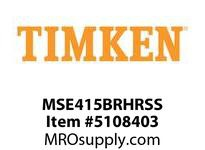 TIMKEN MSE415BRHRSS Split CRB Housed Unit Assembly