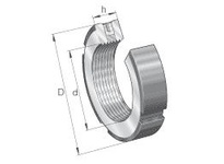 INA ZM25 Precision locknut