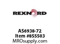 REXNORD AS6938-72 AS6938-72 AS6938 72 INCH WIDE MATTOP CHAIN WI
