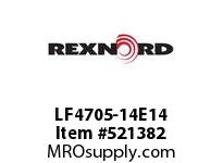 REXNORD LF4705-14E14 LF4705-14 E14-1/4D SP 151488