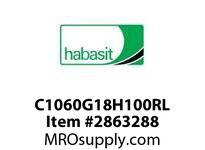 "Habasit C1060G18H100RL 1060/1061-18T X 1"" Split Idler Sprocket"