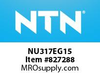 NTN NU317EG15 Cylindrical Roller Bearings