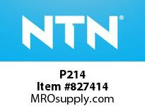 NTN P214 Bearing Units - Cast Housing