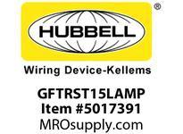 HBL_WDK GFTRST15LAMP 15A COM SELF TEST TR GFR LT ALMOND MID