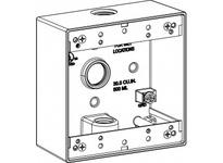 Orbit 2B50-3 2-G W/P BOX 3 1/2^ HUBS 2^ DEEP