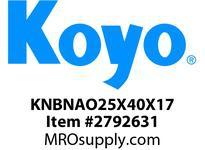 Koyo Bearing NAO25X40X17 NEEDLE ROLLER BEARING