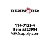REXNORD 114-3121-4 KU5936-18T 25MM KW MCHNYL 142305