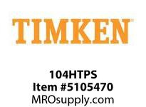 TIMKEN 104HTPS Split CRB Housed Unit Component