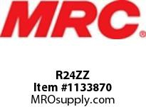 MRC R24ZZ SINGLE ROW BALL BRGS