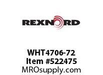 REXNORD WHT4706-72 WHT4706-72 134587