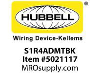 HBL_WDK S1R4ADMTBK S1R4 FRPT/FB ABANDON PLATE BLK