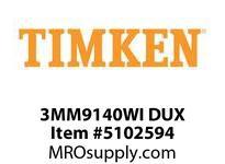 TIMKEN 3MM9140WI DUX Ball P4S Super Precision