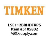TIMKEN LSE112BRHDFKPS Split CRB Housed Unit Assembly