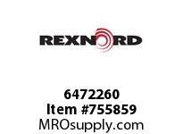 REXNORD 6472260 36-GB4030-01 IDL*A/S 4.75RIS STL R/G