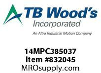 TBWOODS 14MPC385037 14MPC-3850-37 QTPCII BELT