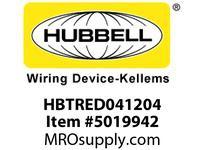 HBL_WDK HBTRED041204 WBPREFORM RADI REDUCER4^HX12^W TO 4^W