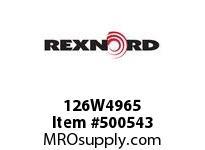 126W4965 SQUARE NUT126W496-5 5817693