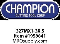 Champion 327MX1-3X.5 CARBON METRIC ROUND DIE STK ADJ