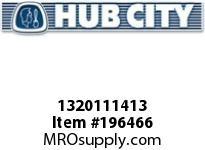 HUBCITY 1320111413 B250RWX2-7/16 DURALINE BEARING INSERT