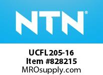 NTN UCFL205-16 Oval flanged bearing unit