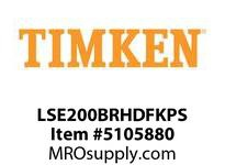 TIMKEN LSE200BRHDFKPS Split CRB Housed Unit Assembly