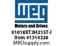 WEG 01018XT3H215T-I 10HP 1800 60 575 XP - Nema Pr