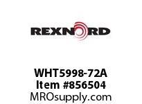 REXNORD WHT5998-72A WHT5998-72 NO SPKT PKTS