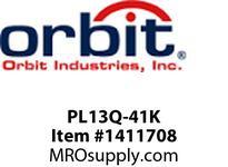 Orbit PL13Q-41K PL13 QUAD COMP. FLUOR. 2PIN -C.W