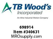 TBWOODS 698914 698914 10SX1.750 SF