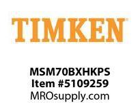 TIMKEN MSM70BXHKPS Split CRB Housed Unit Assembly