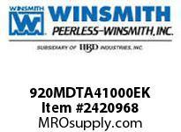 WINSMITH 920MDTA41000EK 920MDTA 30 L 56C WORM GEAR REDUCER