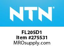 NTN FL205D1 CAST HOUSINGS