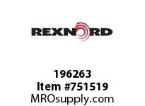 REXNORD 196263 595408 126.DBZ.CPLG STR TD