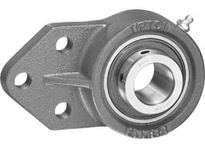 IPTCI UCFB207-35MM-L3 3-Bolt Flange Bracket Set Screw Lock Bore Dia. 35mm Wide Inner Race Insert Triple Lip Seal