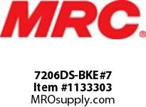 MRC 7206DS-BKE#7 ABEC-7 PRECISION BALL BRG
