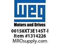 WEG 00158XT3E145T-I 1.5HP 1800 60 208-230/460 XP - Nema Pr