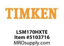 TIMKEN LSM170HXTE Split CRB Housed Unit Component