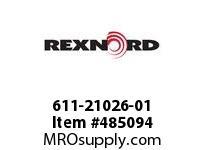 REXNORD 6403445 611-21026-01 ROLL*6X19 IMP G/SL REGR-C
