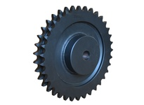 D100C45 C-Hub Double Roller Chain Sprocket
