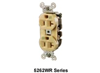 HBL-WDK HBL5362WWR WR RCPT DUP SB HD SPEC 20A 125V WH