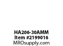 PTI HA206-30AMM HANGER BEARING-30MM HA 200 SILVER SERIES - NORMAL DUTY