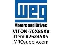 WEG VITON-70X85X8 VITON SEALS FOR 360/400 FR. DE Motores