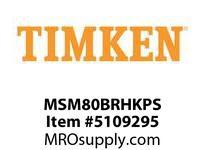 TIMKEN MSM80BRHKPS Split CRB Housed Unit Assembly