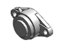 NTN SM-UCFL206D1 MOUNTED UNIT (CAST IRON)
