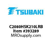 US Tsubaki C2080HSK210LRB C2080H RIV 10L/SK-2