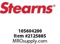 STEARNS 105604200 QF BRAKE ASSY-STD-LESS HUB 8097161