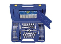 IRWIN 1813817 TAP+DIE + DRL 116PC PTS SET DELUXE