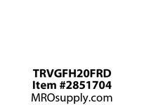 CPR-WDK TRVGFH20FRD GFCI HG TR Deco Duplex 20A 125V RD NAFTA
