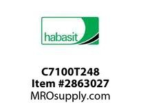 "Habasit C7100T248 7100 Pin Connecting Tool for 2.48"" Width Chain"